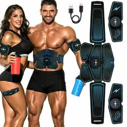 Abdominal Muscle Stimulator Trainer EMS Abs Exercise Home Gy