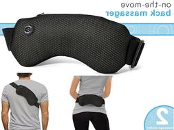 On The Move Back Massager With Adjustable Strap Helps Reliev