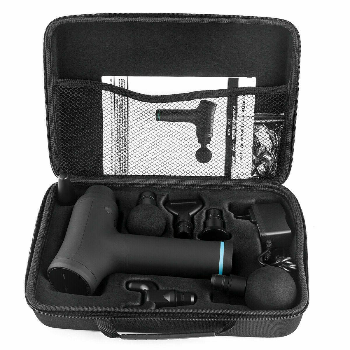 6 tissue Gun Muscle Body sport Therapy