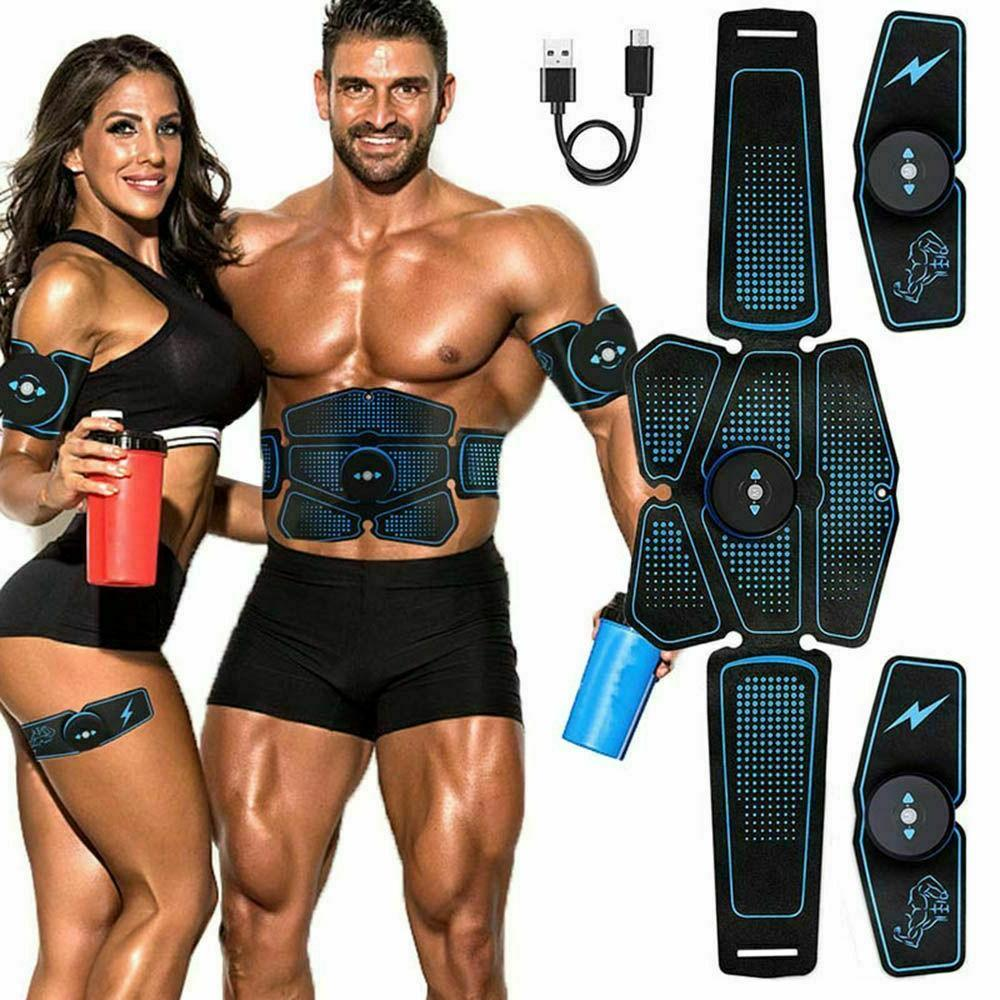 abdominal muscle stimulator trainer ems abs exercise