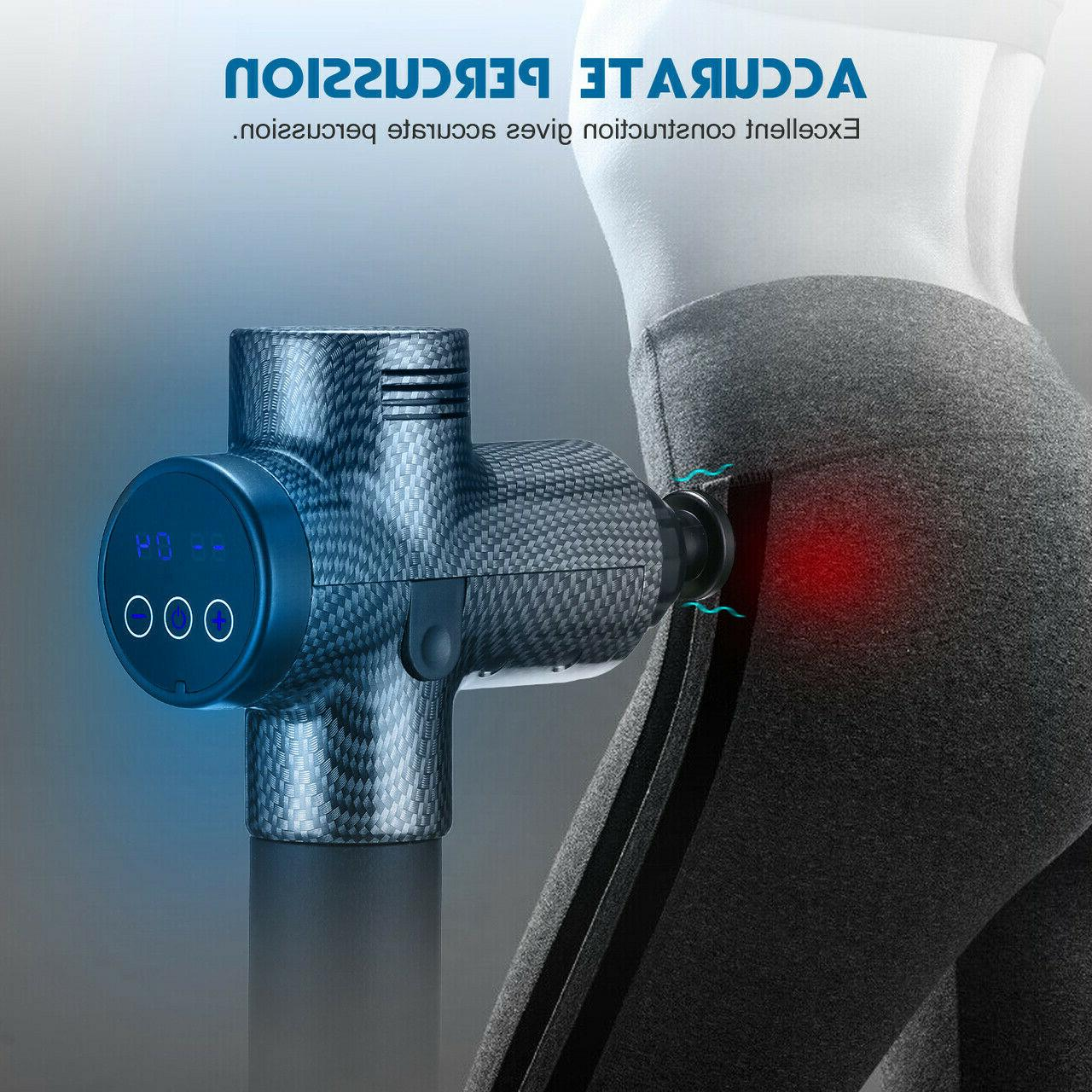LCD Speed Massage Percussion Massager Muscle