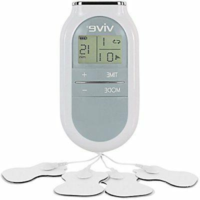 tens machine unit electrical massager pulse muscle