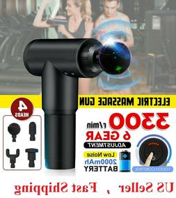 2020 New Massage Gun For Hands / Back/ Legs Muscle Percussio