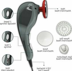 NEW! Wahl Back and Body Massager Electric Heat Muscle Therap