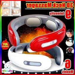 Smart Electric Neck Massager Back Pain Relief Muscle Body Re