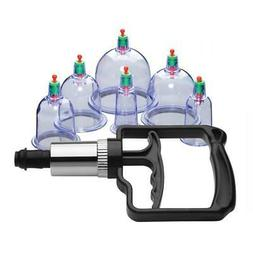 Sukshen 6 Piece Cupping Set with Acu-Points-Erotic Massage-A