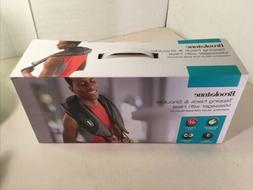 Brookstone Tapping Neck & Shoulder Massager With Heat Powerf