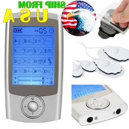 Tens Machine Unit Massager Electric Pulse Muscle Relaxing 16